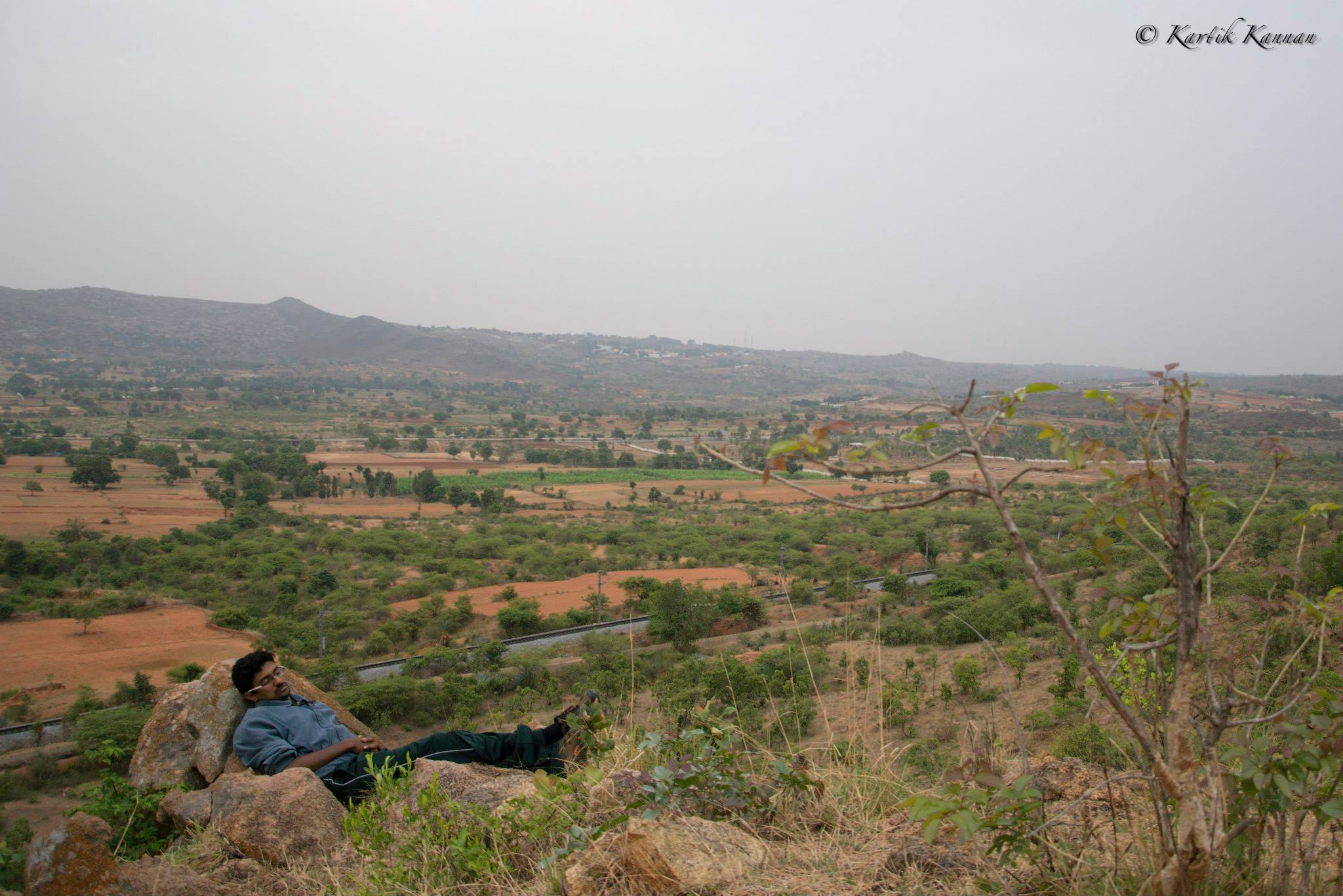 Makalidurga Hill Trek by the Railway Trek