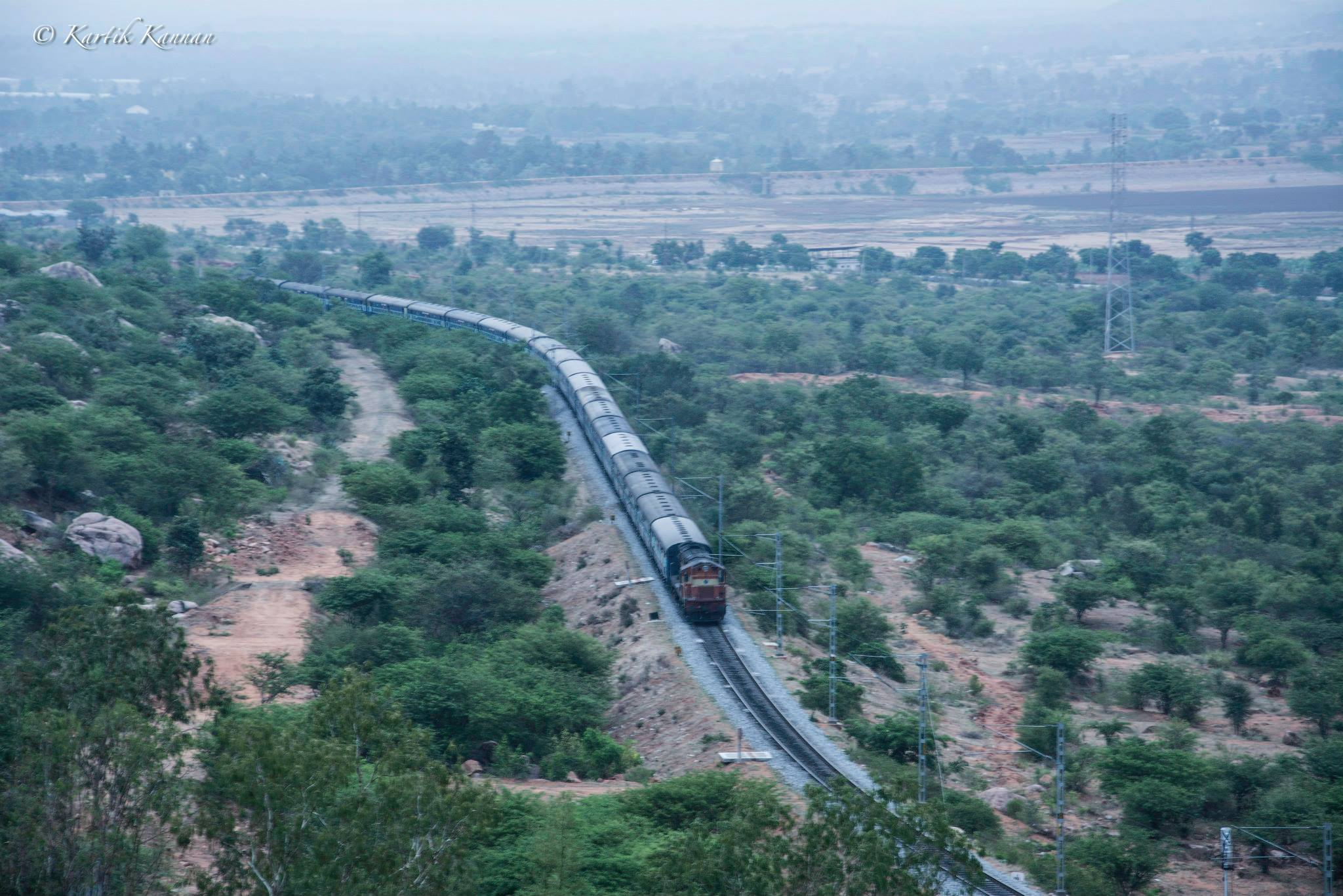 Rail Trek from Makalidurga