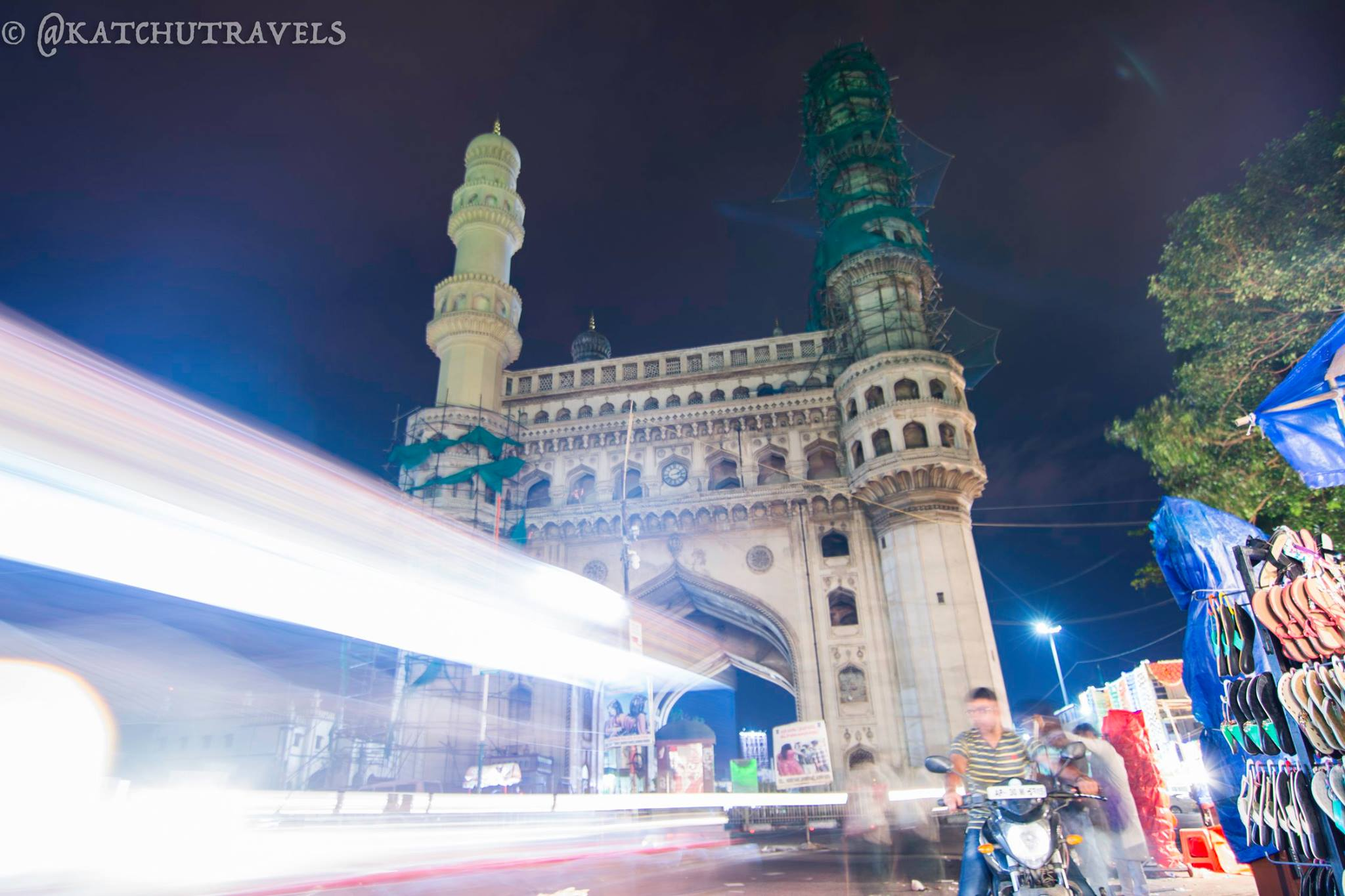 UFO Speeding at the Charminar?