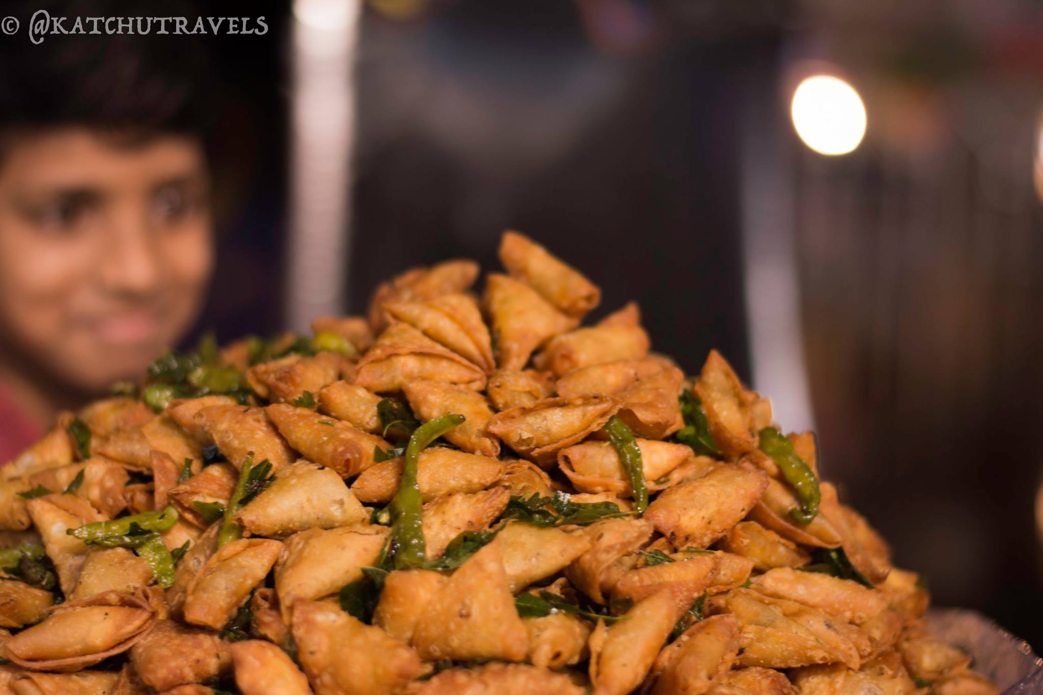 Spicy Samosas at Charminar