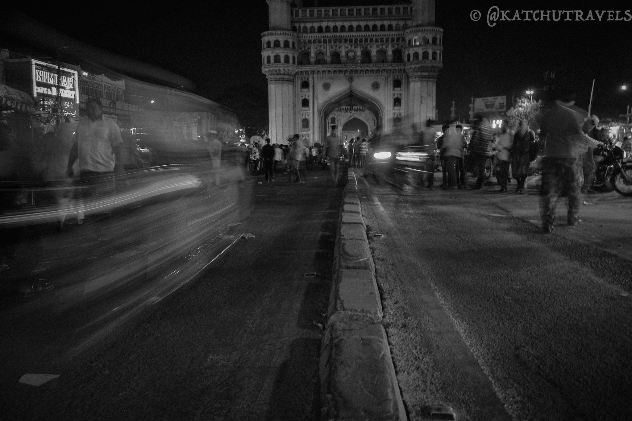 Zipping through the Charminar