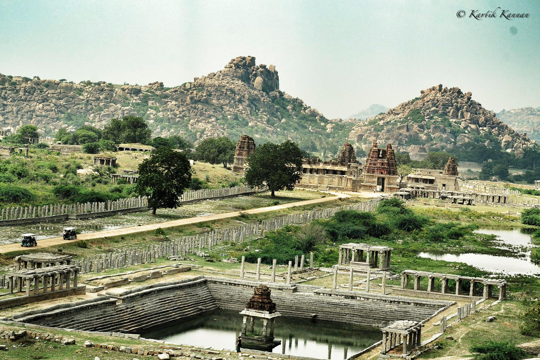 Panoramic View of the Vitthala Temple