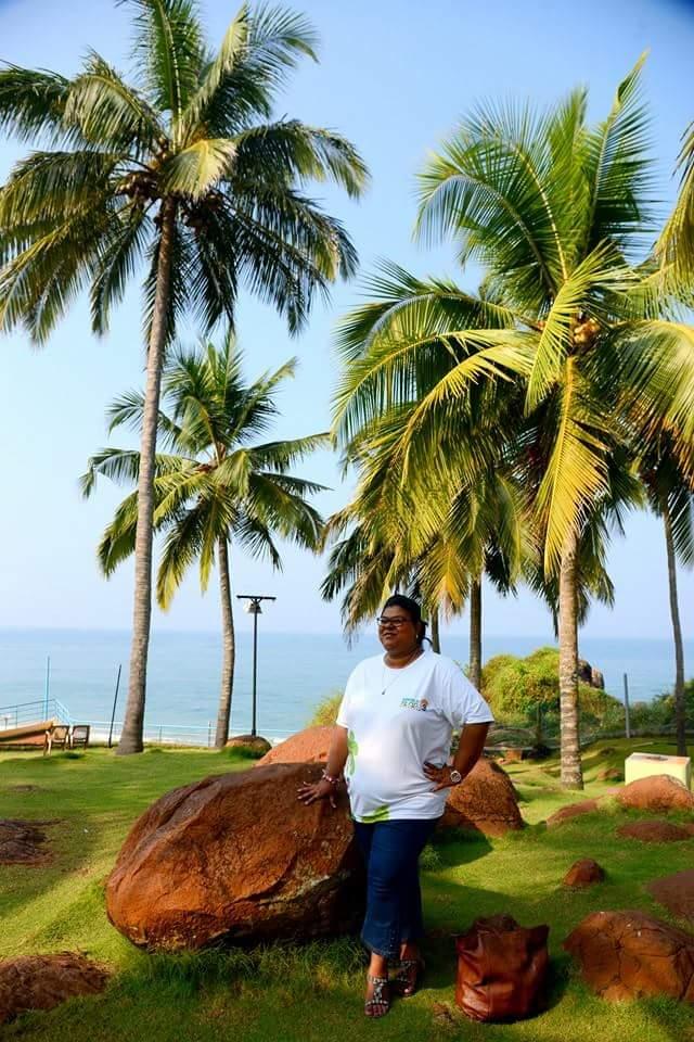 Verushka in Kerala