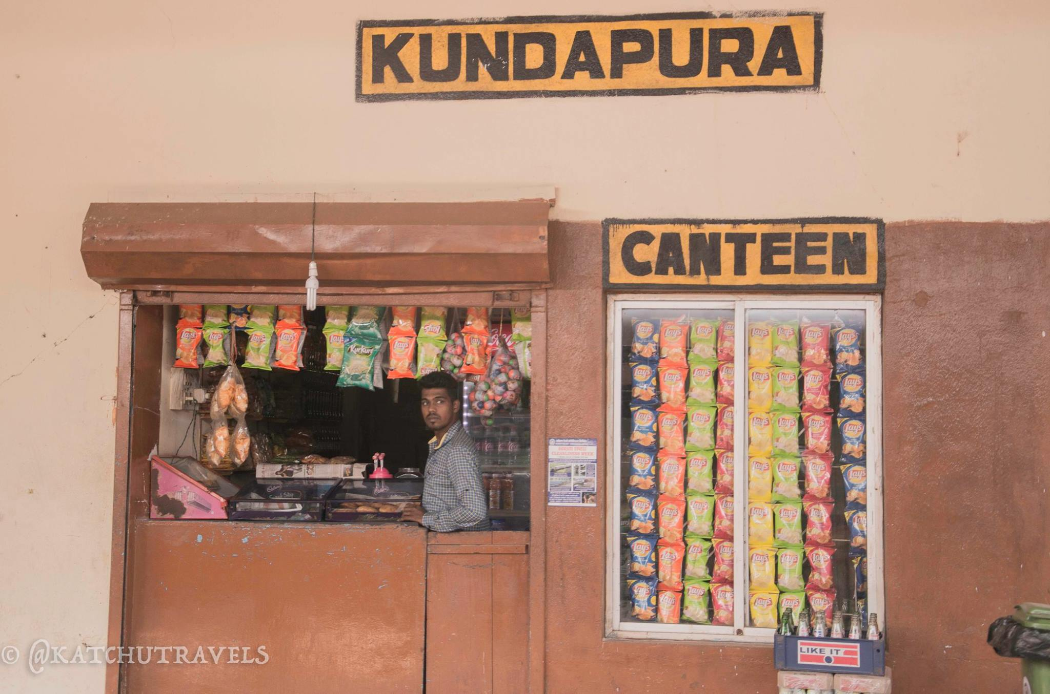 Minimalistic Railway stations on the Konkan Line- Stoppage at Kundapura