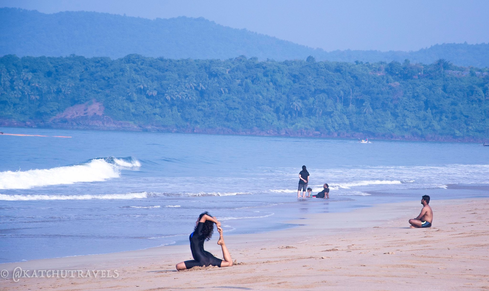 Relaxing on Agonda Beach (Goa)