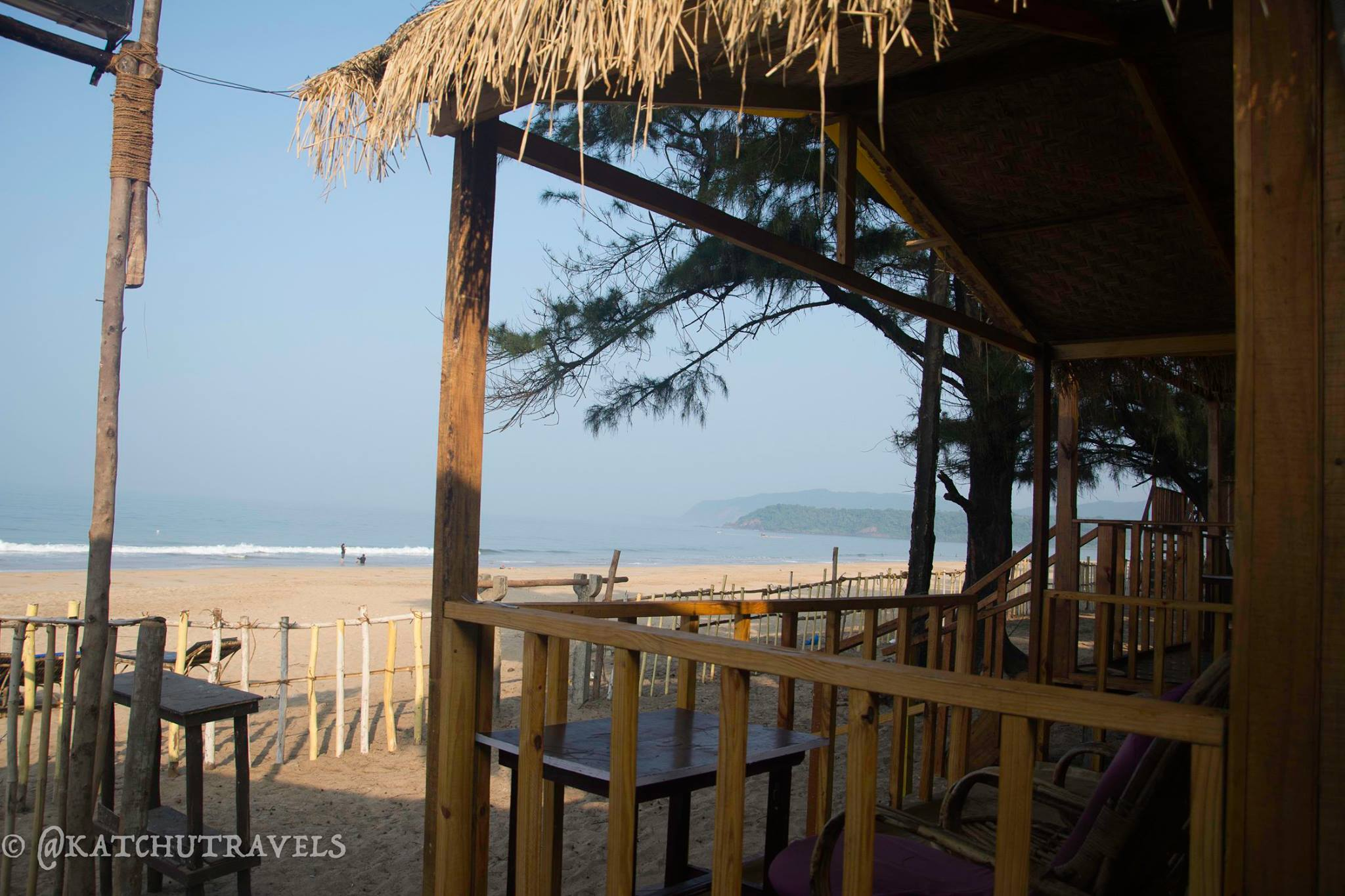 Wake up to the sea view in Agonda (Goa)