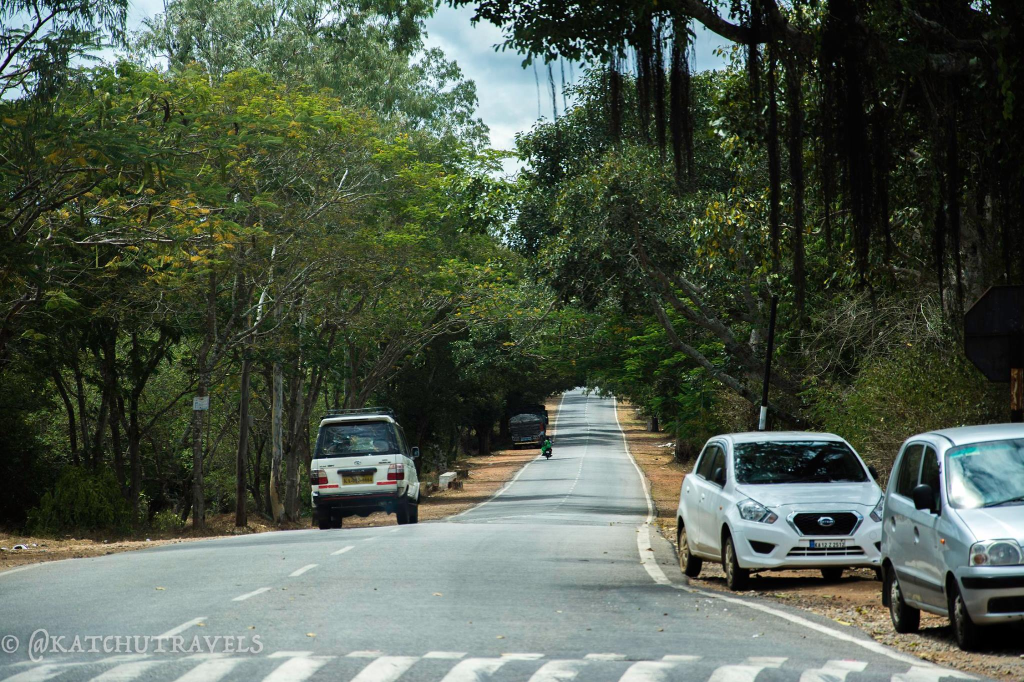 Driving to Coorg (Karnataka)