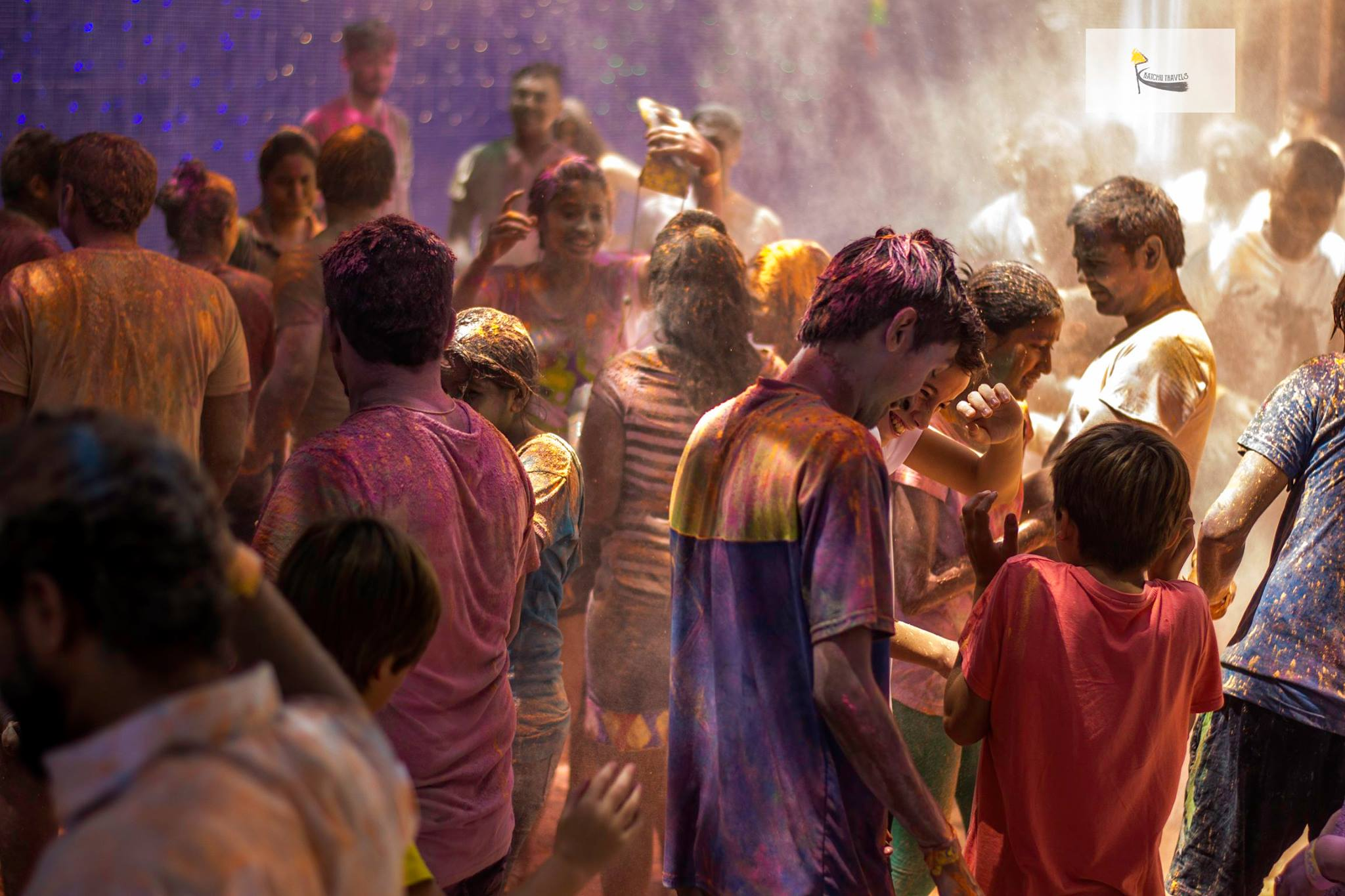 Holi Party in India- Bengaluru