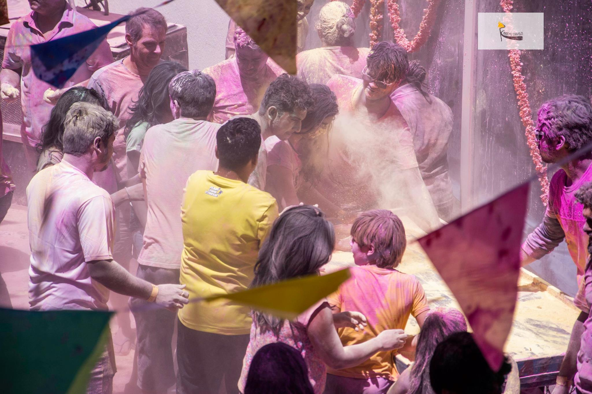 India Holi Celebration Party
