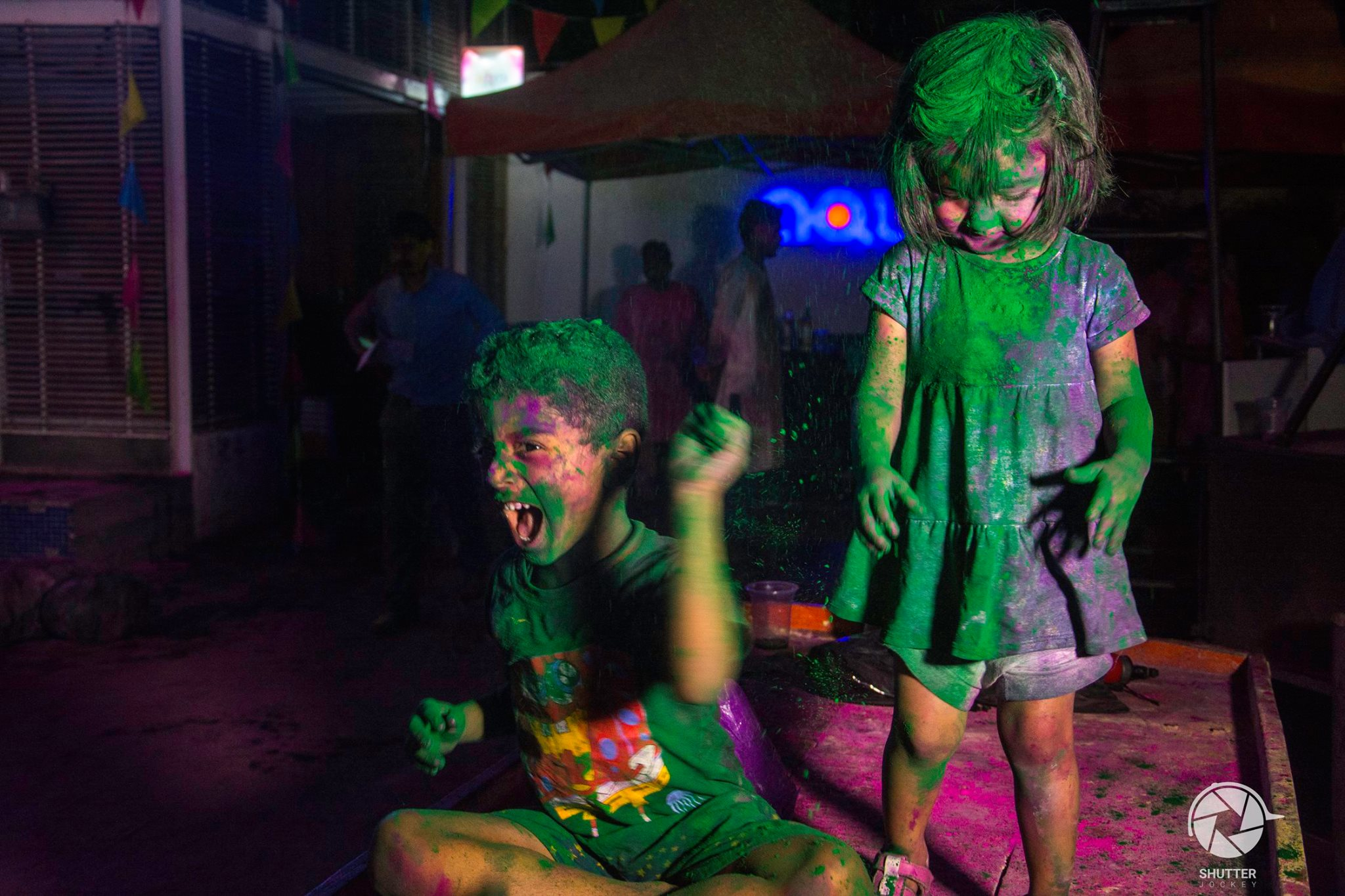 Indian Holi Party Celebration