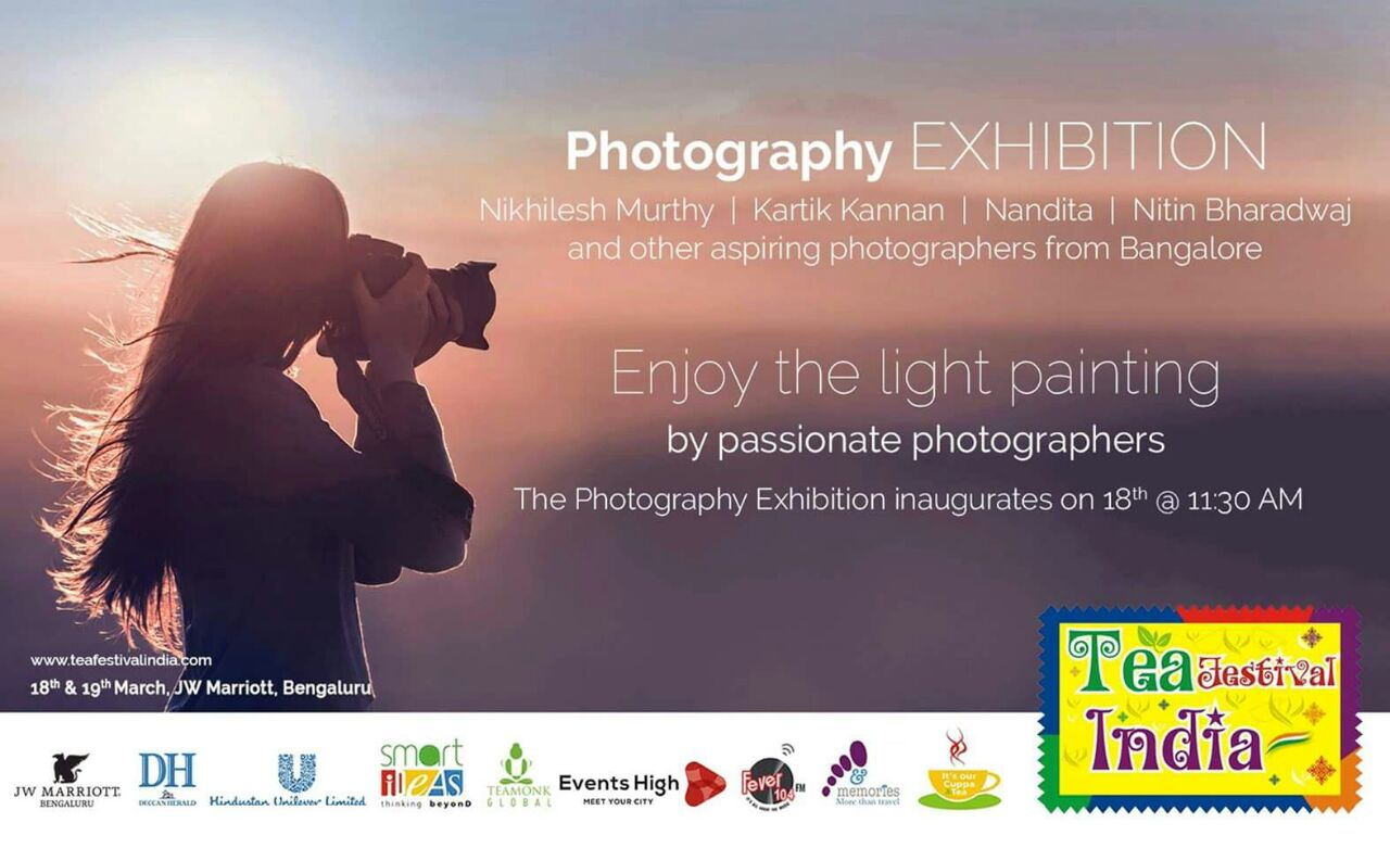 Photography Exhibition at the Tea Festival-JW Marriot