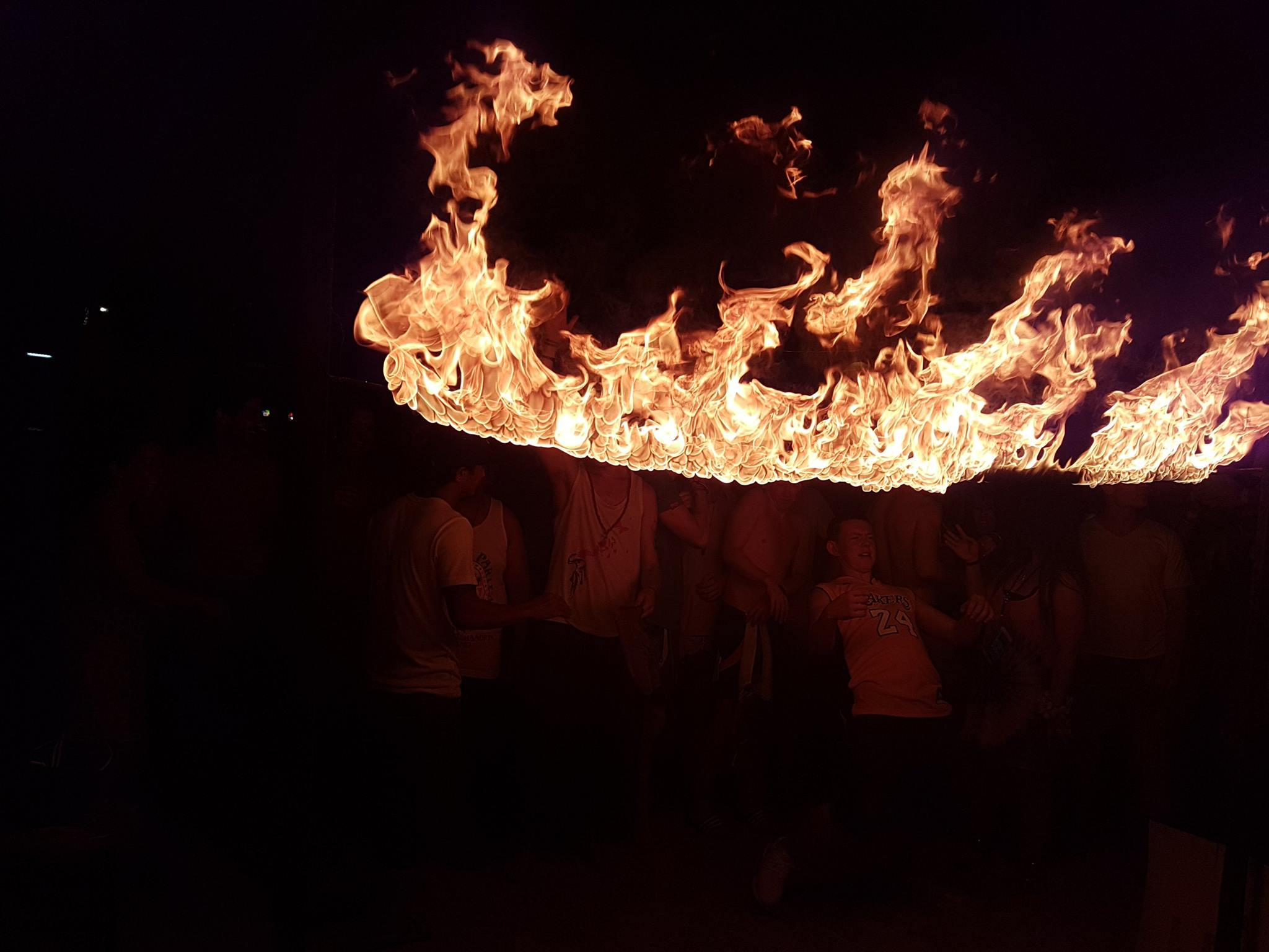 Fire Dancing in Koh Phangan