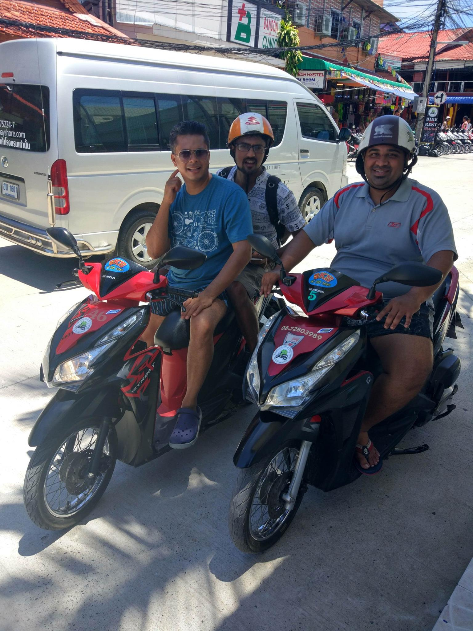 2 wheelers for rental in Koh Phangan