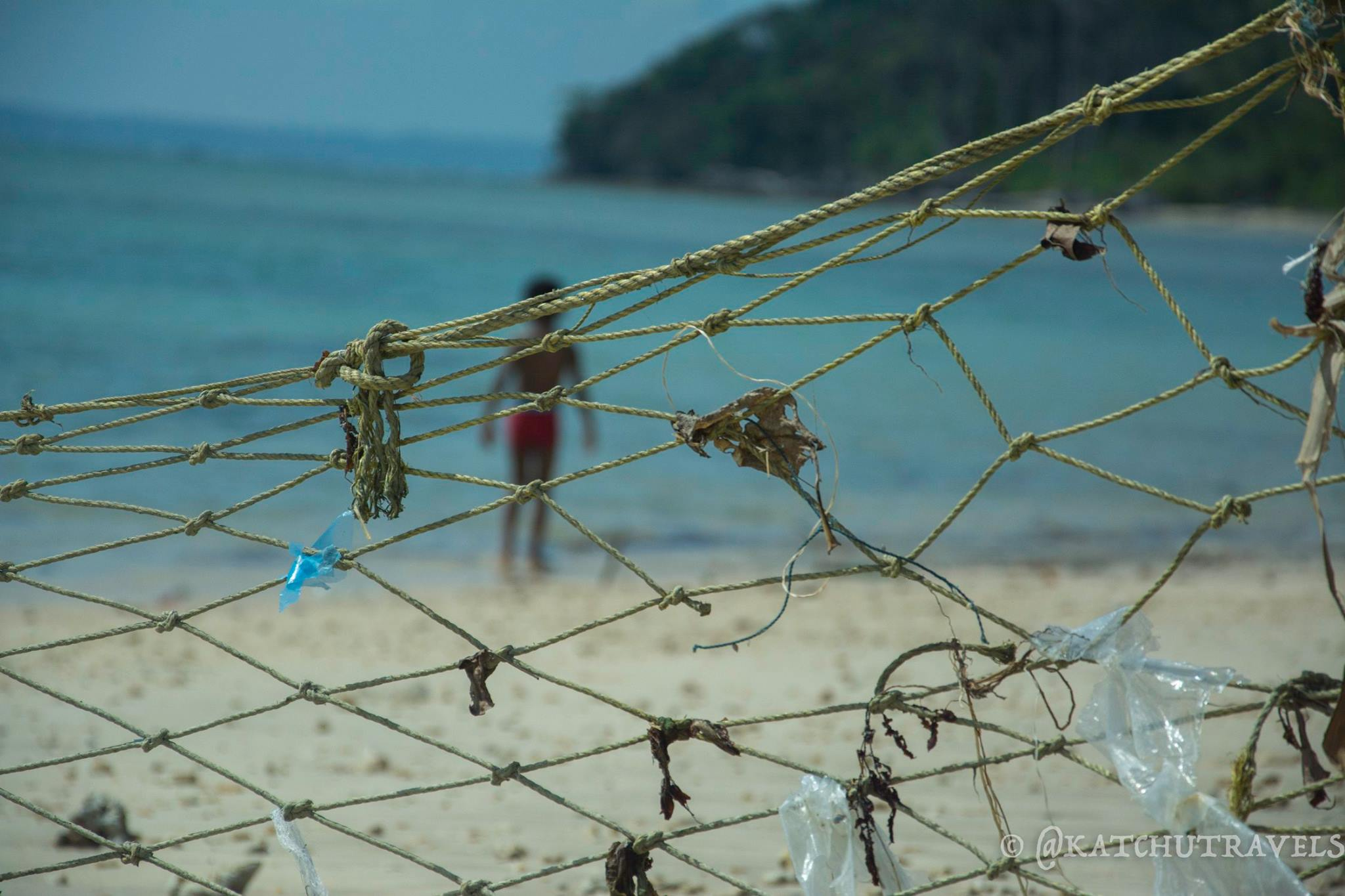Plastic-The-Killer is all around- Shot at Wandoor Beach (Andaman Islands-India)