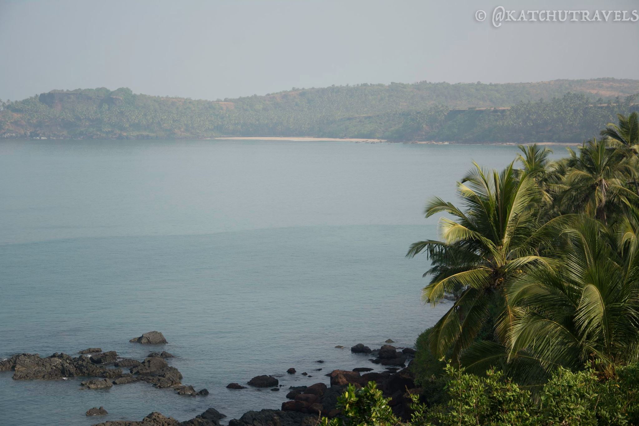 Cabo De Rama Beach in the distance [South Goa-India]