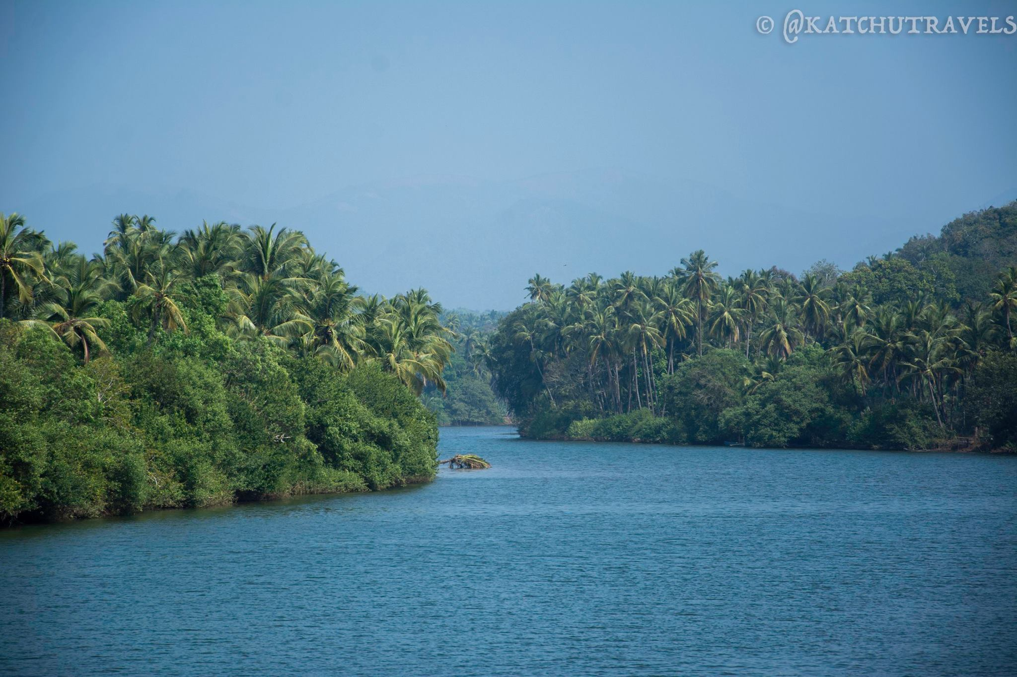 The Greens and Blues of Sadolxem, by the sides of the Talpona River (South Goa-India)
