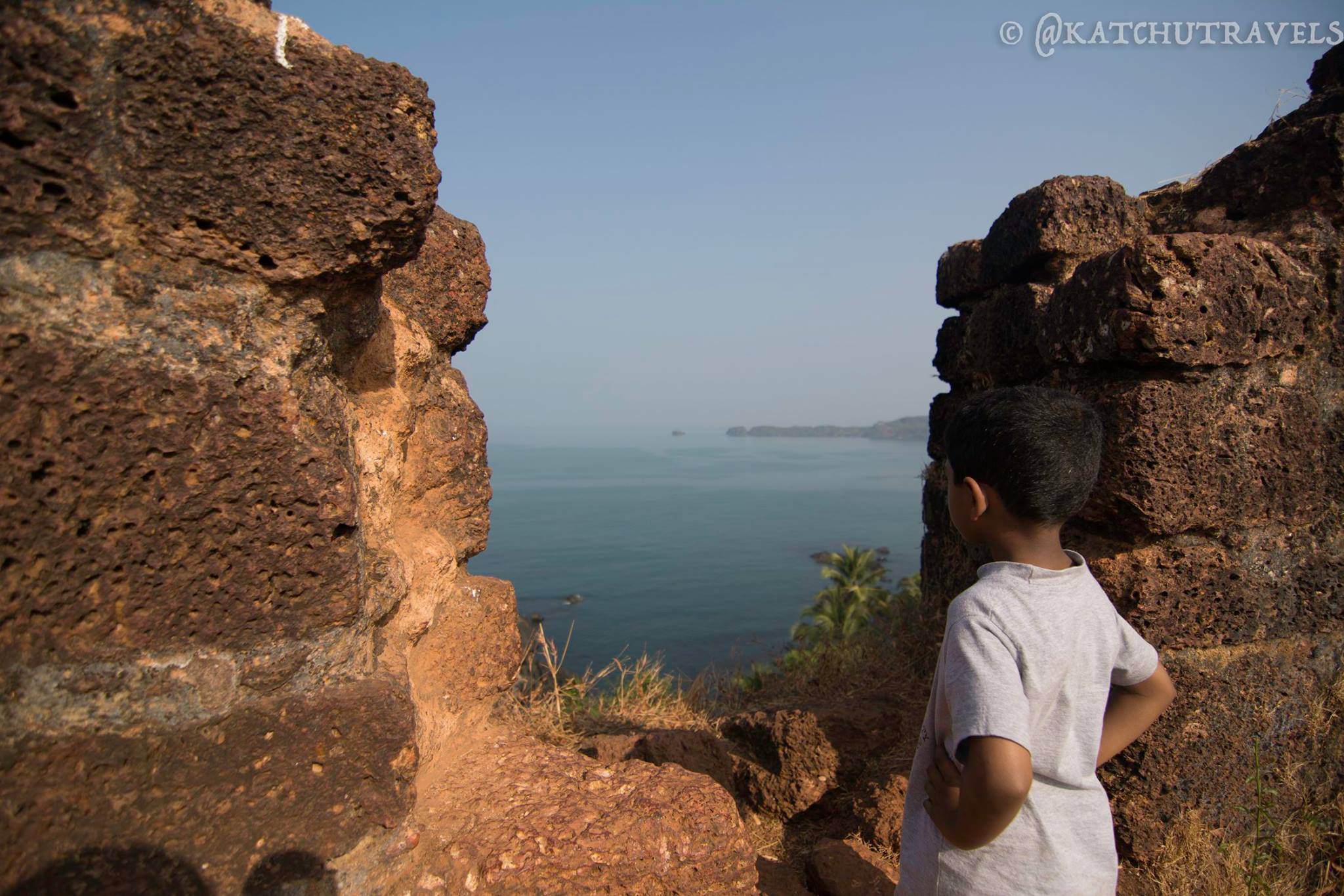 So did Rama camp here with Sita? Cabo De Rama Fort in South Goa-India