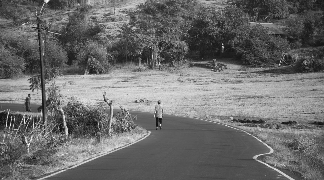 The Barren Landscapes beyond Agonda leading to Khola Village[South Goa-India]