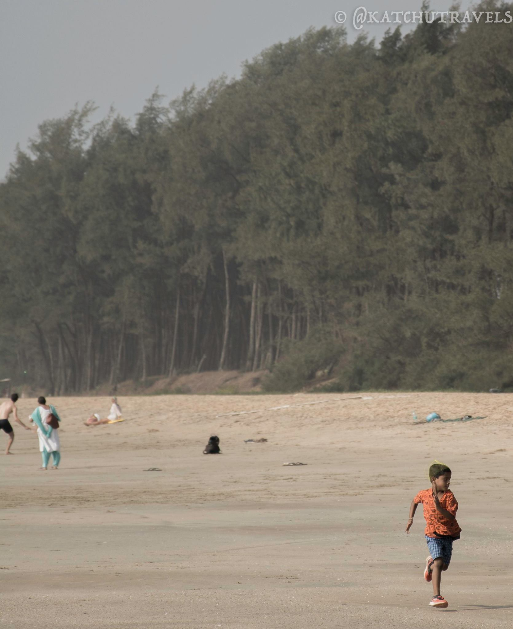 The joy of finding space to run at Galjibag Beach-Goa