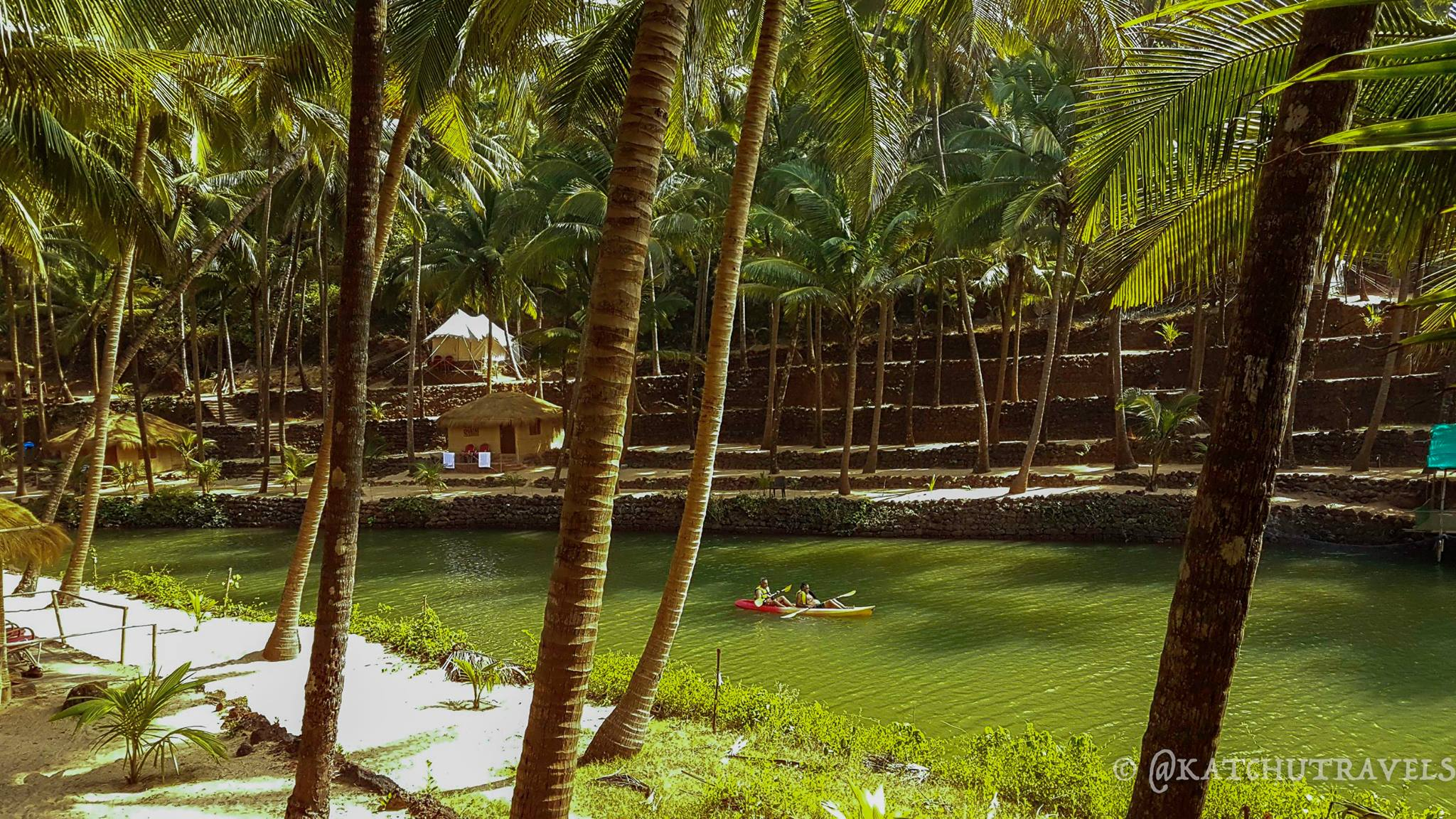 Canoeing in the meandering lagoons of Cola [South Goa-India]