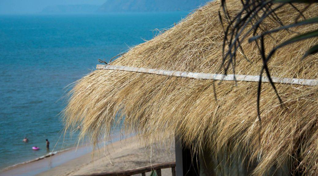 A small beach shack on the hill in Cola Beach [South Goa-India]