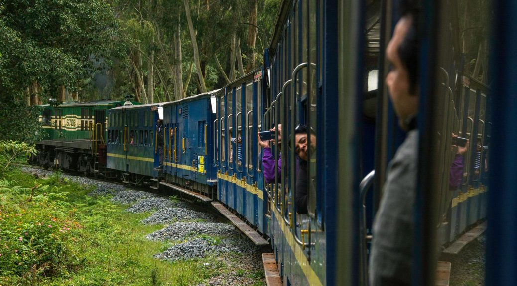 On the Nilgiri Mountain Railway Toy Train from Coonoor to Udhagamandalam