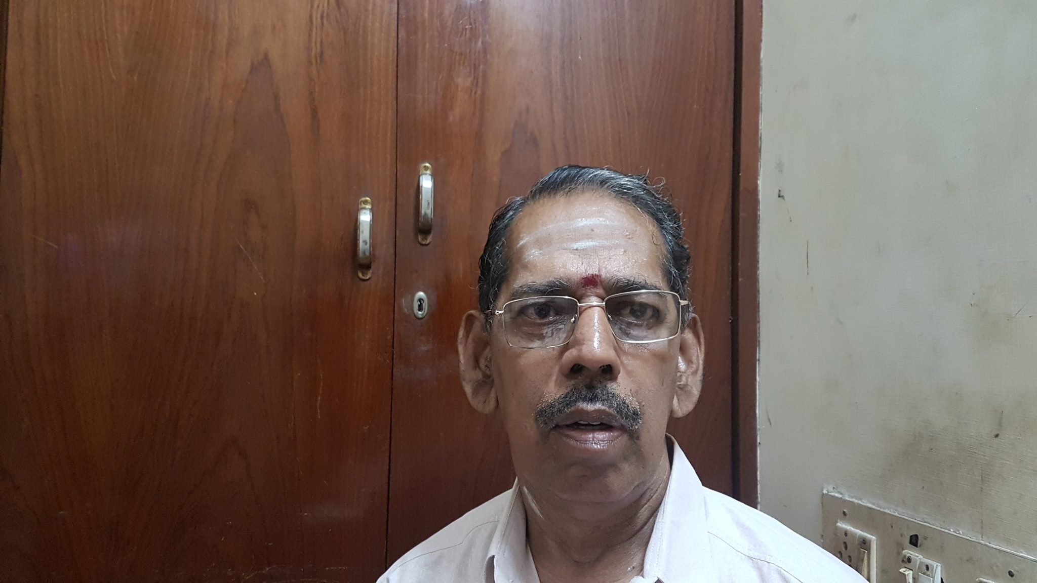 K-Balachandran-Proprietor of Venkkatramana Hotel