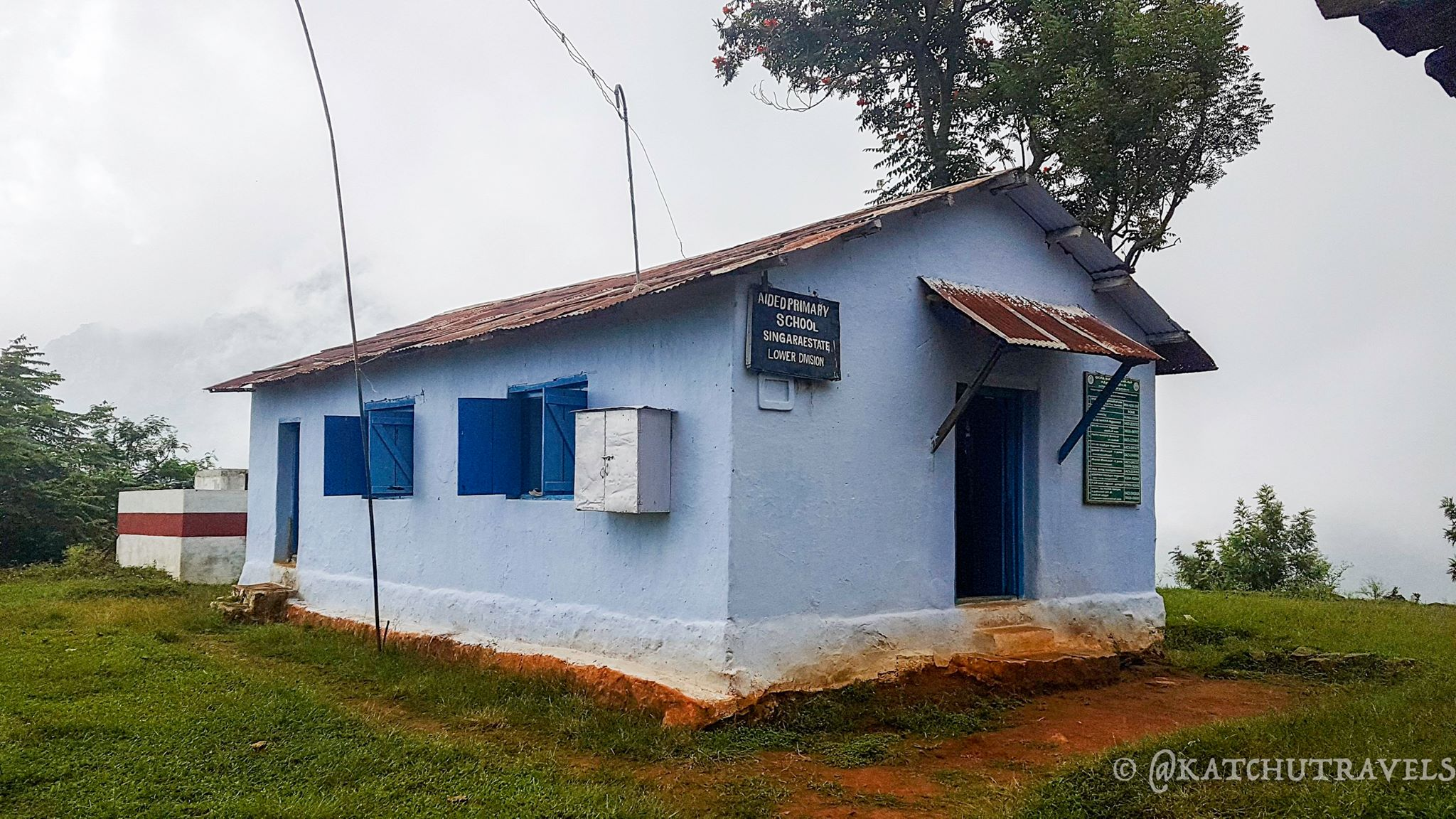 Goverment School in Singara Estate- Coonoor
