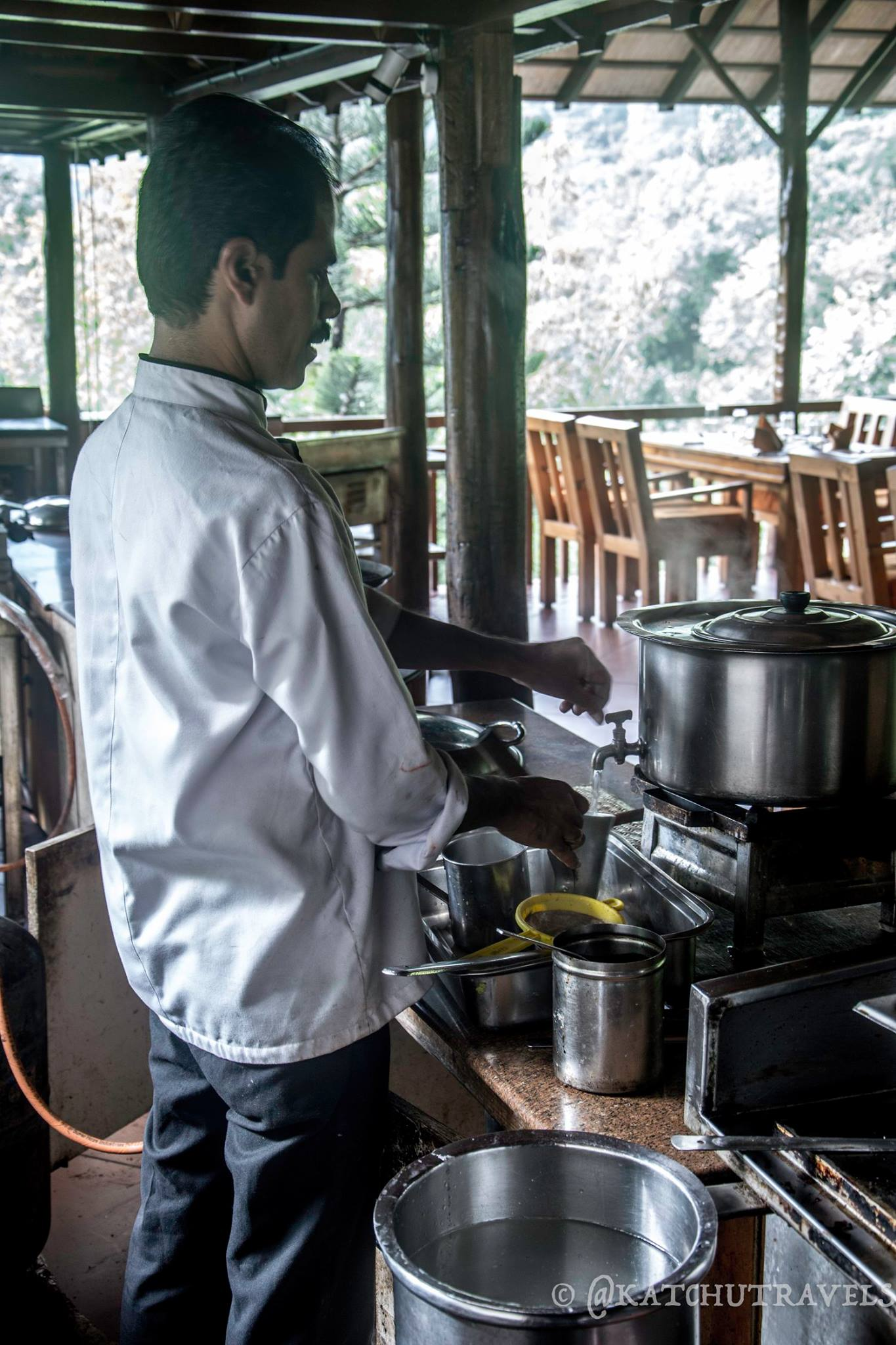 Chef Murali of Kurumba Village