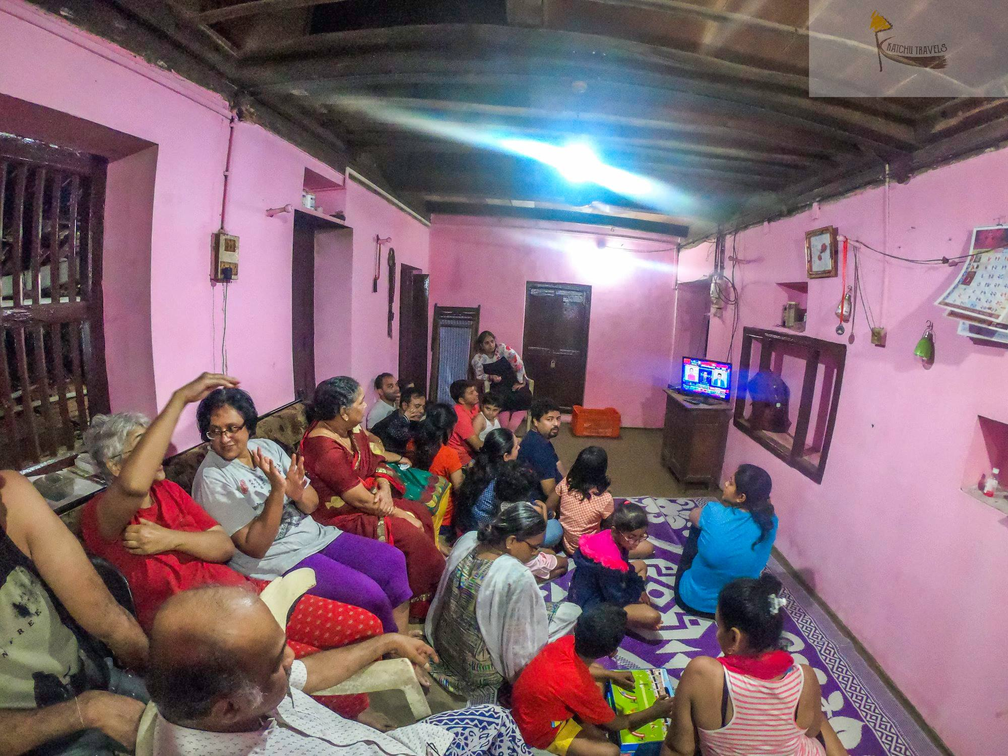 Documentary Screening at Milind Nijsure's house