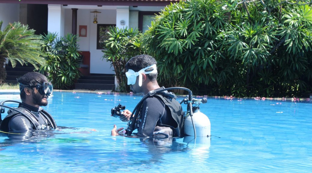 SCUBA Basics at Radisson Blu Resort Temple Bay-Mahabalipuram