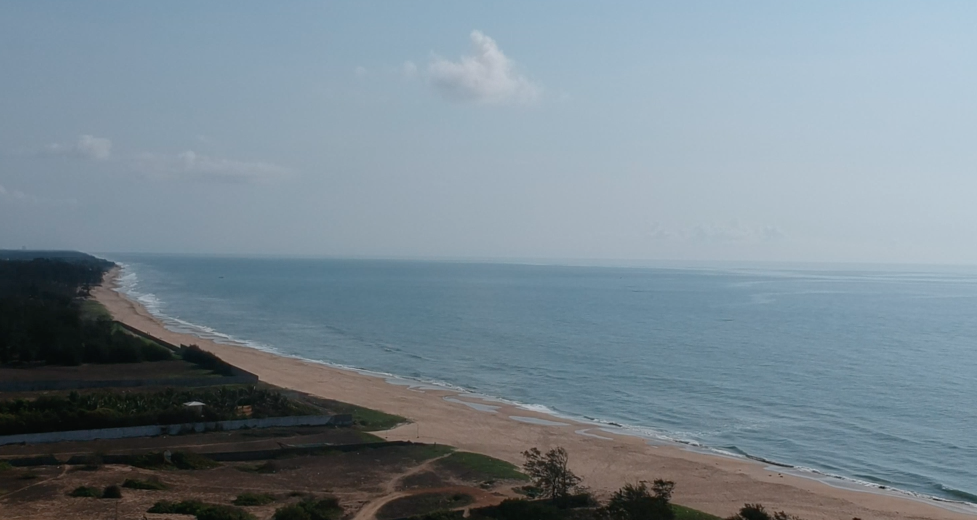 The beautiful Eastern Coast near Chennai