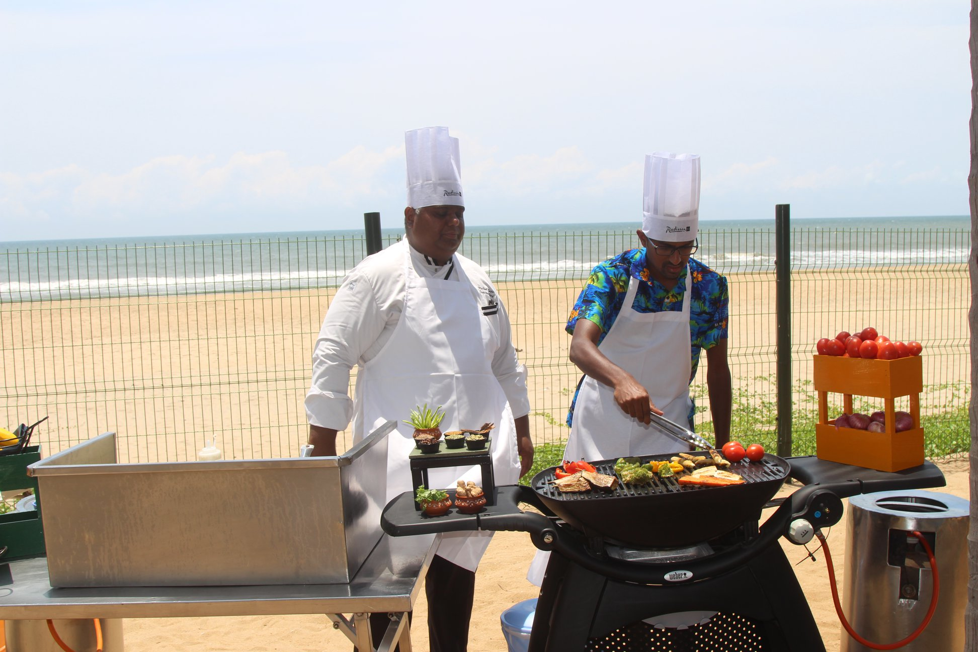 Cooking with Chef Mike in Mahabalipuram