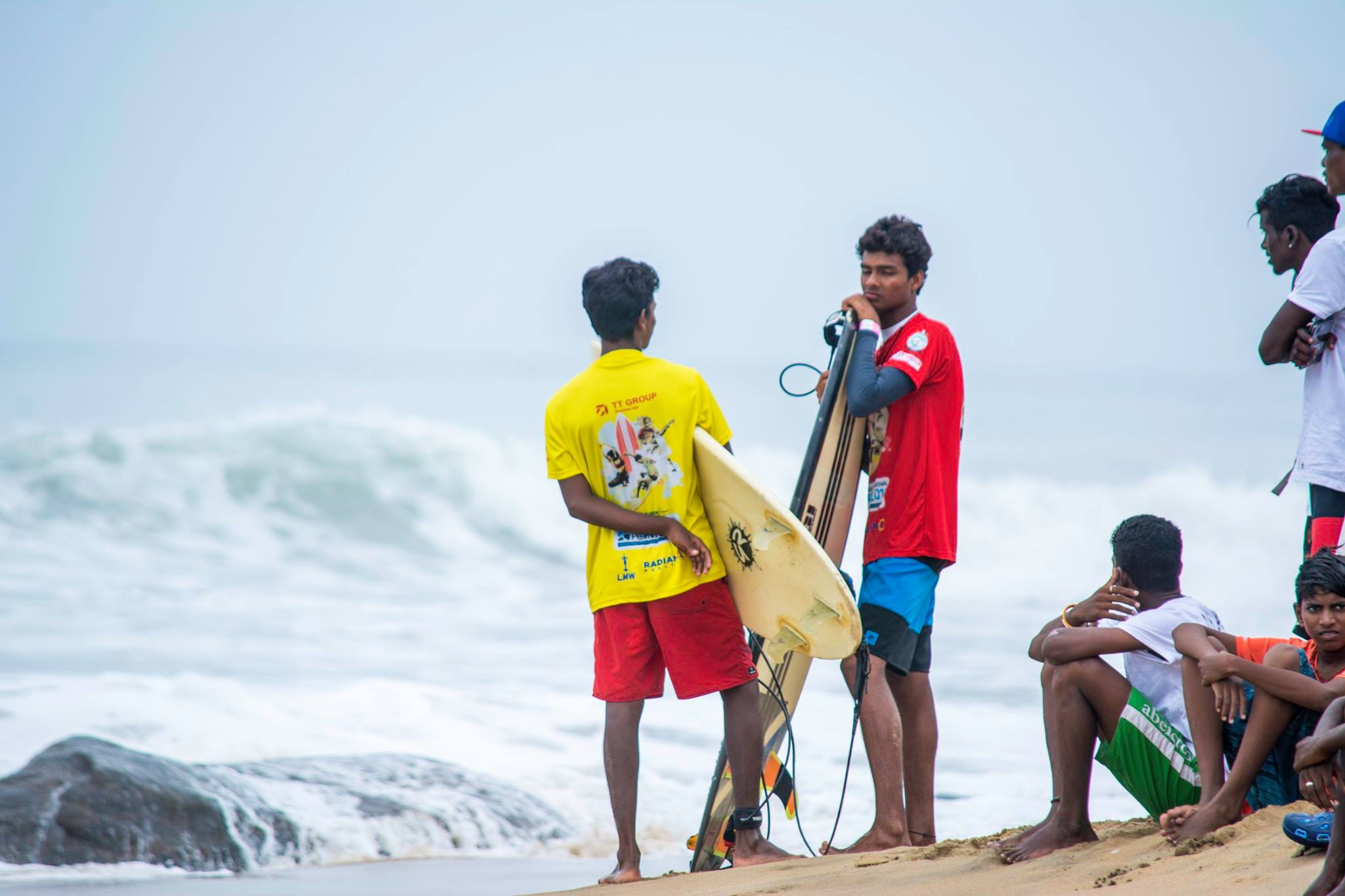 Images from the Covelong Surf, Music and Yoga Festival