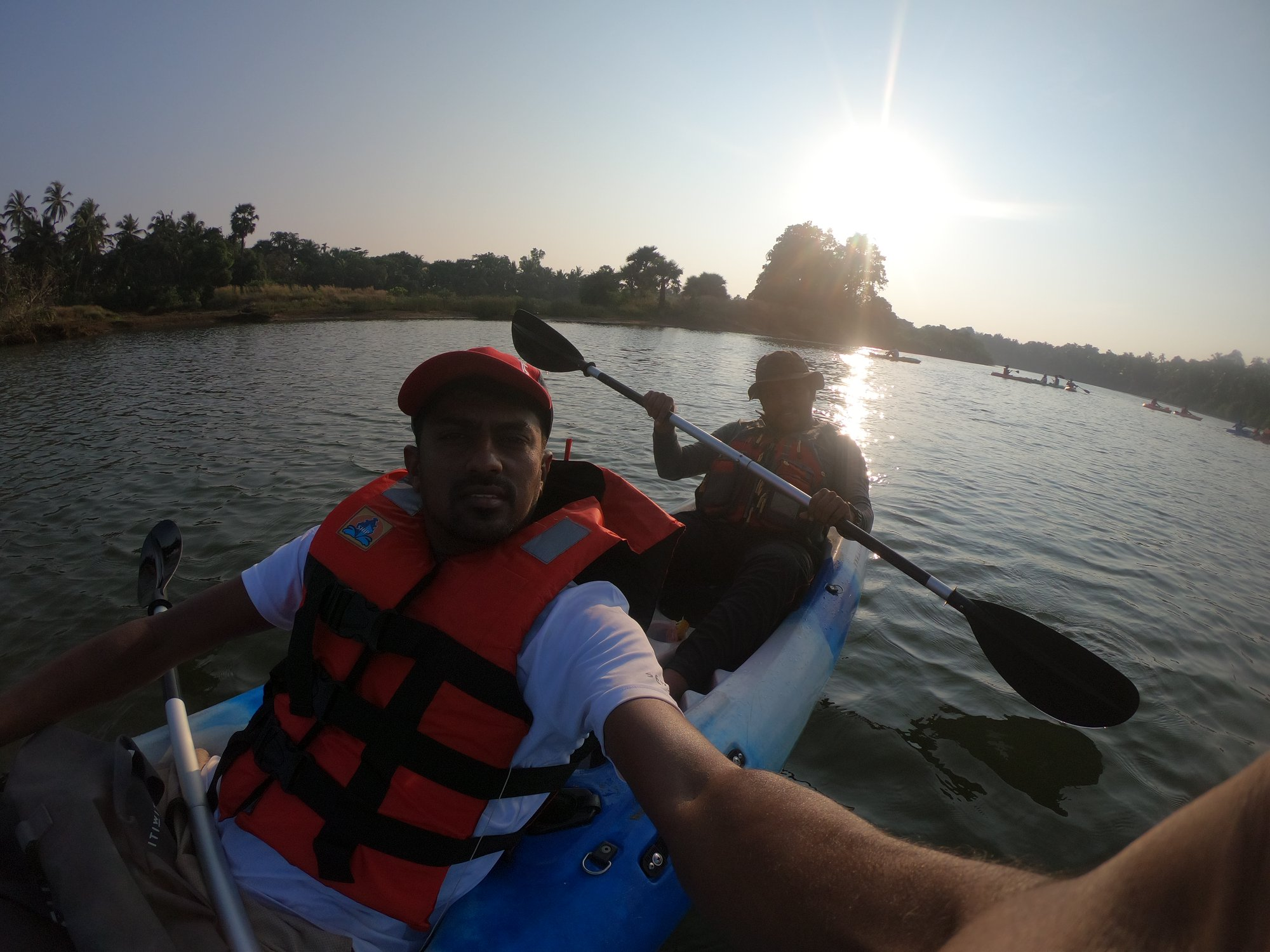Kayaking with Rakesh to Palimar Dam