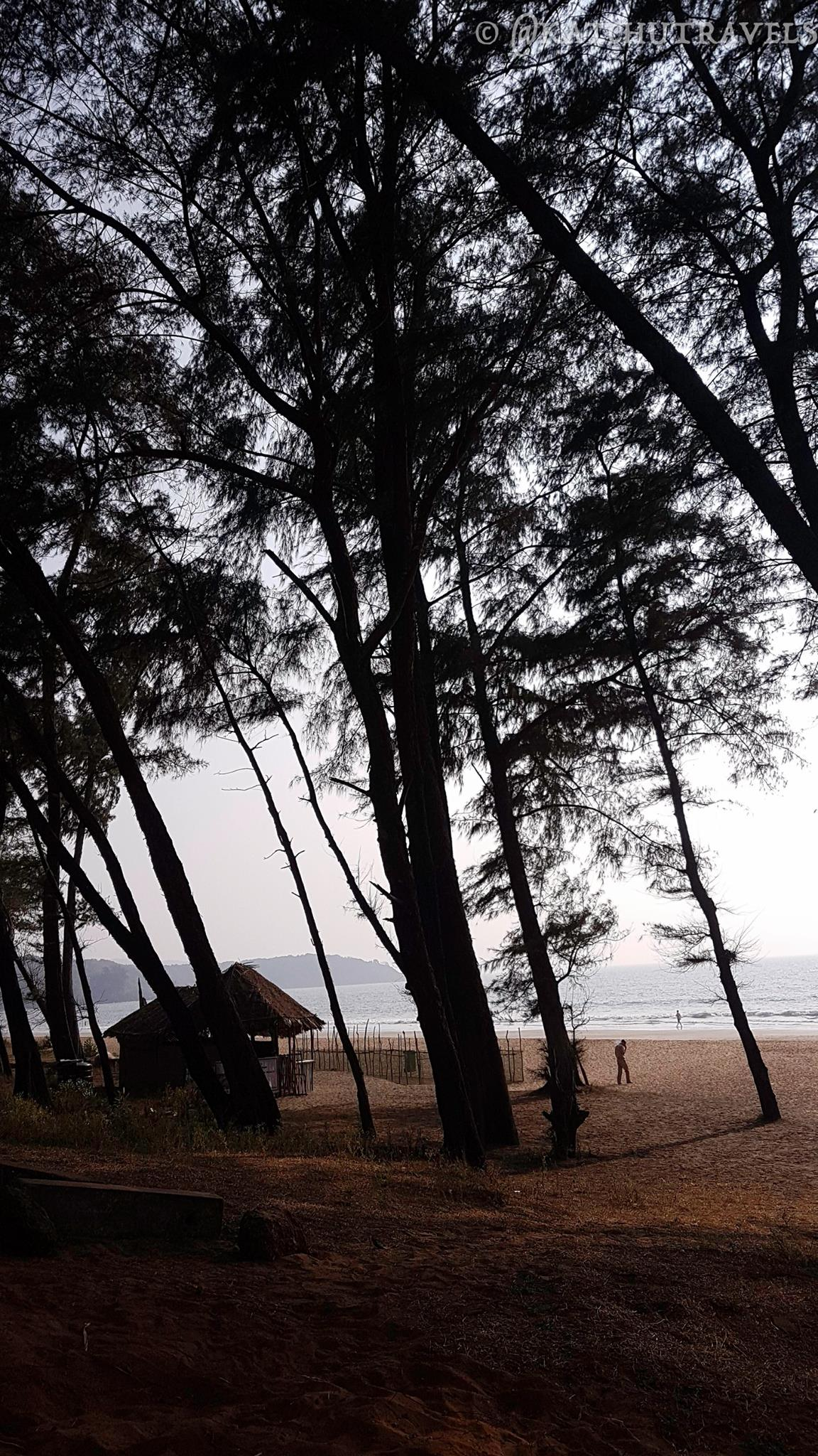Galjibaga Beach-7 km's from Palolem Beach and 20 minutes away from bike