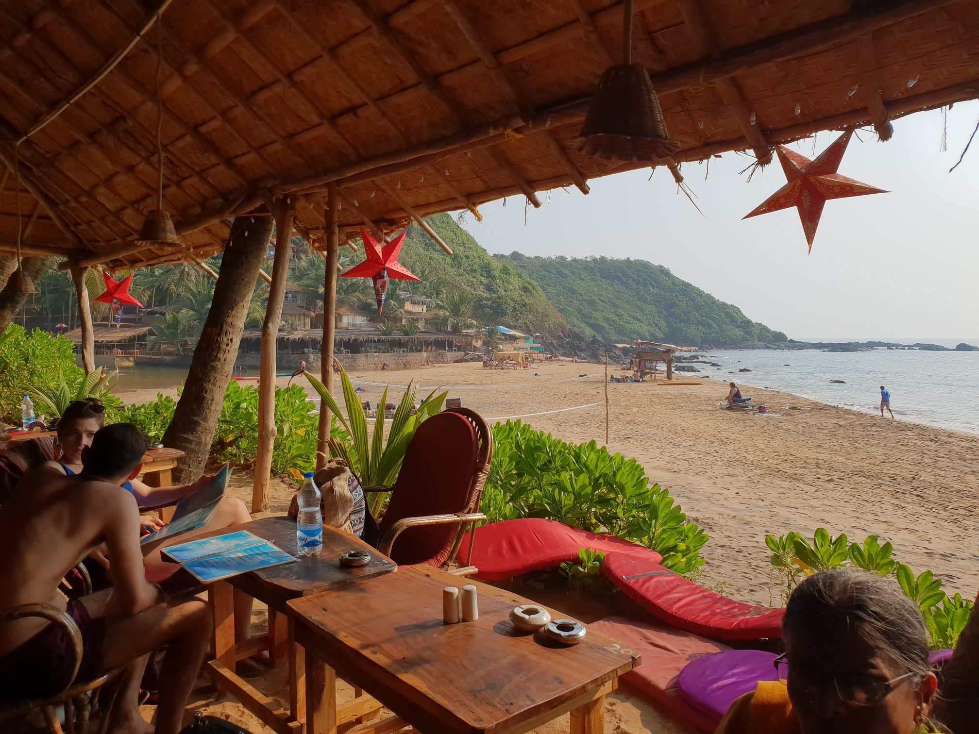 Cola Beach- Stunning Beach and Sweet Water Lagoon by the Hills in South Goa