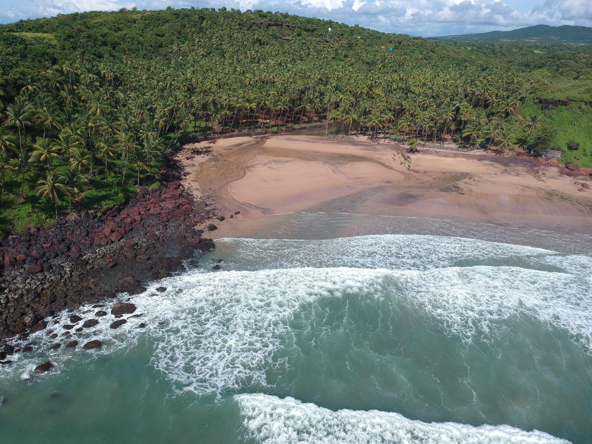 Cabo De Ram Beach in South Goa