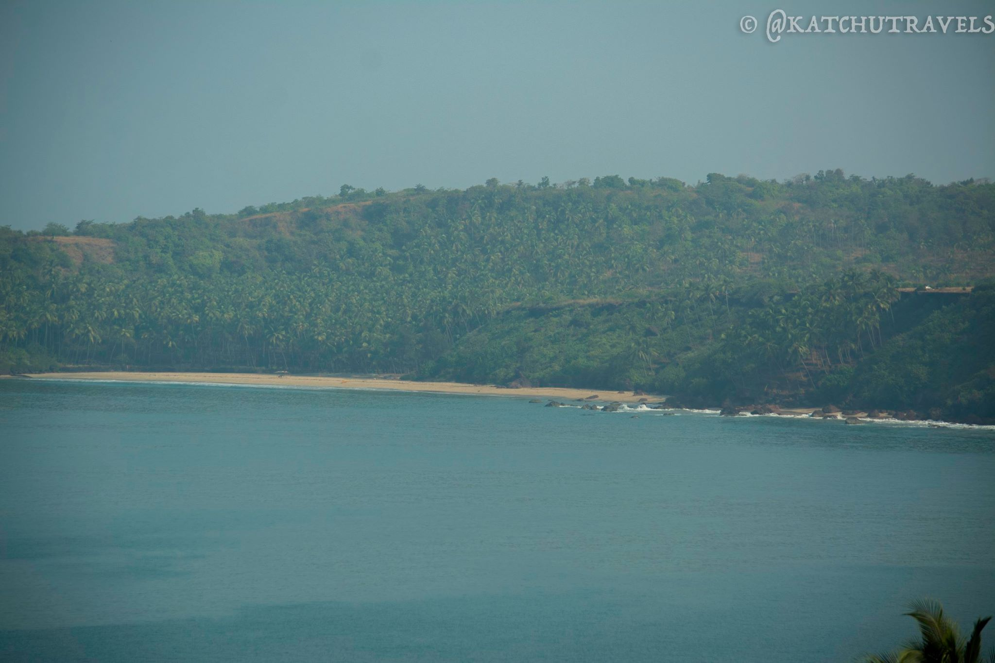 Cabo De Rama Beach is isolated and beautiful to spend a day in South Goa