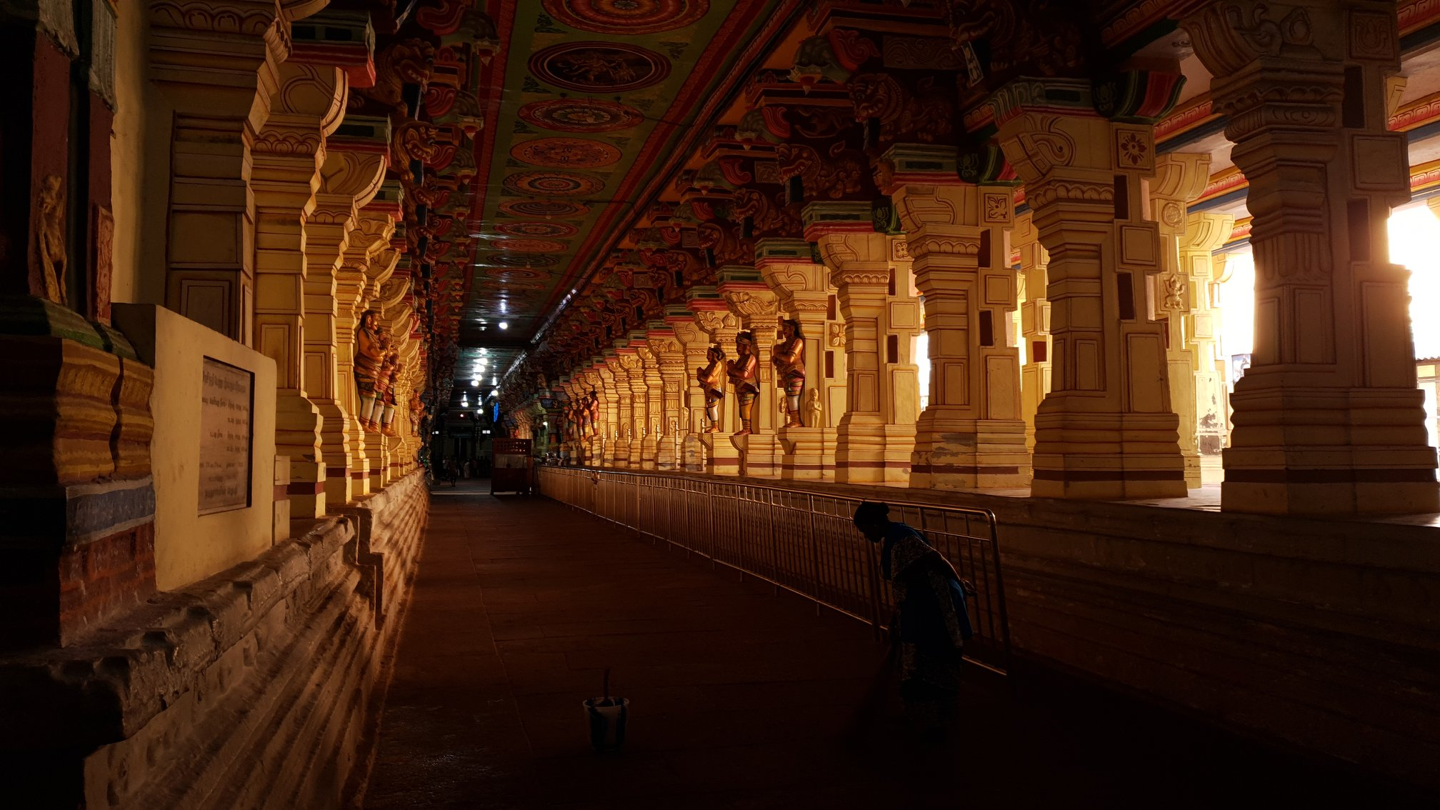Ramanathaswamy Temple in Rameswaram-Tamil Nadu